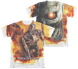 Terminator - Killing Fields (Front - Back Print) T-Shirt