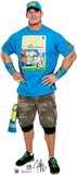WWE - John Cena Light Blue Shirt Lifesize Standup Cardboard Cutouts
