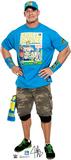 WWE - John Cena Light Blue Shirt Lifesize Standup Cardboard Cutouts