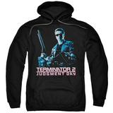 Hoodie: Terminator 2 - Poster Pullover Hoodie