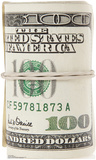 Roll of $100 Bills Standup Cardboard Cutouts