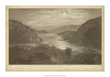 Harper's Ferry by Moonlight Giclee Print by R. Hinshelwood