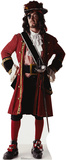 One Eyed Pirate Lifesize Standup Cardboard Cutouts