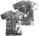 Terminator 2 - T1000 Costume (Front - Back Print) T-Shirt