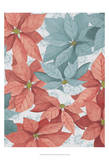 Christmas Poinsettia II Prints by Grace Popp