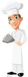 Cartoon Chef Lifesize Standup Cardboard Cutouts