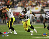 Jerome Bettis Super Bowl XL Action Photo