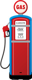 Gas Pump Lifesize Standup Cardboard Cutouts