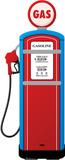 Gas Pump Lifesize Standup Cardboard Cutouts