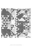 Geometry in Grey II Prints by Amy Lighthall