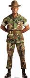 Camo Military Man Lifesize Standup Cardboard Cutouts
