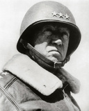 General George Patton in command of the US 7th Army in World War Two Photo