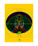 Space Time Energy Symmetry Photographic Print by Thinker Collection STEM Art by Lisa C Clark