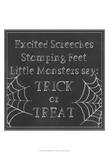 Spooky Chalkboard I Prints by Grace Popp