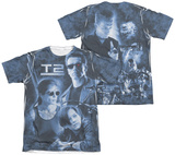 Terminator 2 - Protector And Hunter (Front - Back Print) Shirts