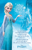 Frozen - Lyrics Poster