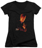 Juniors: Terminator 2 - T1000 V-Neck T-Shirt