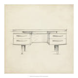 Mid Century Furniture Design VI Giclee Print by Ethan Harper