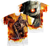 Terminator - Killing Fields (Front - Back Print) T Shirts