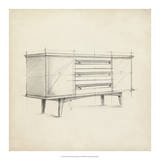 Mid Century Furniture Design V Giclee Print by Ethan Harper