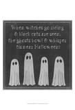 Spooky Chalkboard II Posters by Grace Popp
