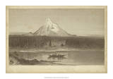 Mount Hood from Columbia Giclee Print by R. Hinshelwood