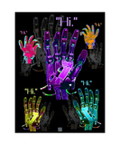 Hi Robot Hands Photographic Print by Thinker Collection STEM Art by Lisa C Clark
