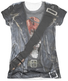 Juniors: Terminator 2 - T800 Costume T-Shirt