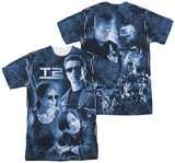 Terminator 2 - Protector And Hunter (Front - Back Print) T-shirts