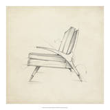 Mid Century Furniture Design II Giclee Print by Ethan Harper