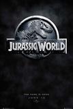 Jurassic World Logo Teaser Plakater