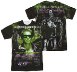 Terminator - Japan Poster Sub (Front - Back Print) T-shirts