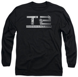 Long Sleeve: Terminator 2 - Gunshot Logo Long Sleeves