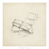 Mid Century Furniture Design IV Giclee Print by Ethan Harper