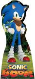 Sonic Boom - Sonic Lifesize Standup Cardboard Cutouts