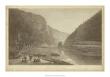 Delaware Water Gap Giclee Print by R. Hinshelwood