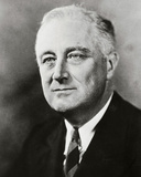Franklin D. Roosevelt, 32nd President of the United States Photo