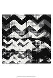 Abstract Chevron III Affiches par Amy Lighthall