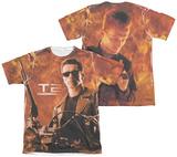 Terminator 2 - Blaze (Front - Back Print) Shirts