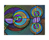 Riemann Zeta Polars Reprodukcja zdjęcia autor Thinker Collection STEM Art by Lisa C Clark