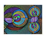 Thinker Collection STEM Art by Lisa C Clark - Riemann Zeta Polars Fotografická reprodukce
