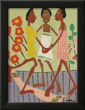 Ring Around the Rosey Posters by William H. Johnson
