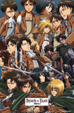 Attack On Titan - Collage Photo