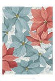 Christmas Poinsettia I Poster by Grace Popp