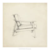 Mid Century Furniture Design III Giclee Print by Ethan Harper