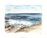 Coastal Watercolor V Limited Edition by Ethan Harper