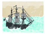 Ahoy, Urban Road Prints by Marion Duschletta