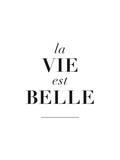 La Belle est Vie Poster van Brett Wilson