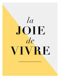 La Joie De Vivre Yellow Prints by Brett Wilson