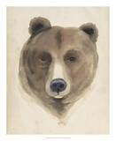 Watercolor Animal Study VI Giclee Print by Grace Popp